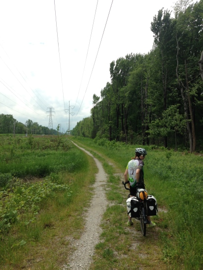 bicycle touring in Indiana